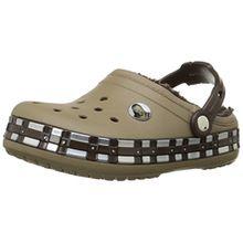 crocs Crocband Star Wars Chewbacca Fuzz Lined Kids, Jungen Clogs, Braun (Khaki), 29/31 EU