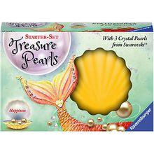Swarovski® Perlen-Schmuck Starter-Set Treasure Pearls gelb