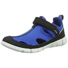 Ecco Jungen Intrinsic Sneaker Low-Top, Blau (50276black/Bermuda B-Bermuda B/Black), 30 EU