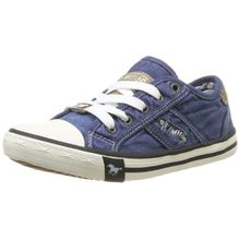 Mustang 5803-305-841, Unisex-Kinder Sneakers, Blau (841 jeansblau), 33 EU