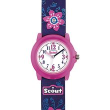 Kinder Armbanduhr lila