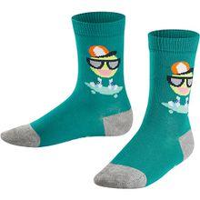 Socken Smiley  grün Jungen Kleinkinder