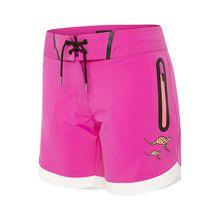 CHIEMSEE Badeshorts mit elastischem Bund pink Damen