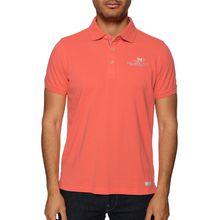 New Zealand Auckland Poloshirt in orange für Herren