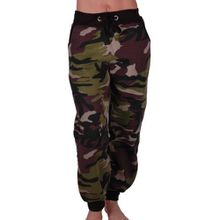 Eyecatch - Damen Casual Army Military Tarnung Sport Gym Jogger Jogging Damen Trainingshose X-Large