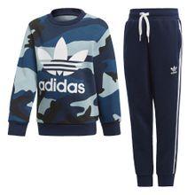 ADIDAS ORIGINALS Sweatshirt-Set navy / pastellblau / schwarz / weiß