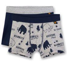 Sanetta Boxershorts Doppelpack - Mammoth