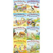 Buch - Pixi Bücher: Meine Sticker-Pixis, 8 Hefte