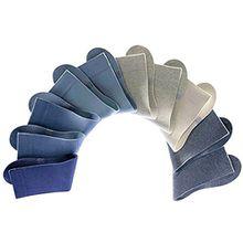 H.I.S ®, 10 Paar Unisex Socken, Damen und Herren, Freizeit und Business, HIS (43/46, 10 x jeans)