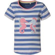 SIGIKID T-Shirt blau / weiß