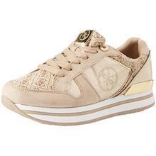 Guess Damen Footwear Active Lady Sneaker, ORO (Gold), 39 EU