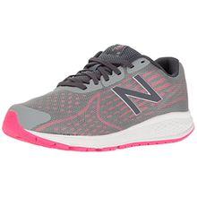 New Balance Unisex-Kinder Vazee Rush v2 Sneakers, Mehrfarbig (Grey/Pink), 33 EU