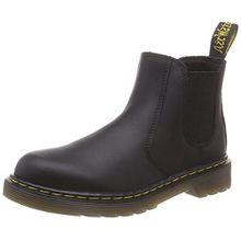 Dr. Martens Banzai Softy T Black, Unisex-Kinder Bootsschuhe, Schwarz (Black), 34 EU (2 Kinder UK)