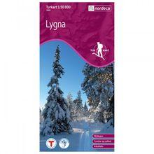 Nordeca - Wander-Outdoorkarte: Lygna 1/50 - Wanderkarte Auflage 2010