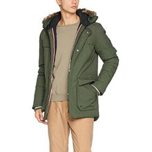 Bench Herren Nomens Parka, Grün (Deep Depths Gr11332), Medium