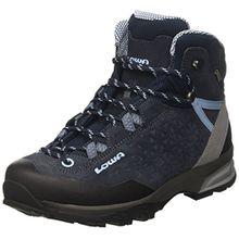 Lowa Damen Sassa GTX Mid W Trekking-& Wanderstiefel, Blau (Navy/Hellblau 6970), 39 EU