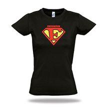 ERZIEHERIN Damen shirt Superman Letters Superman T-Shirt S - XXL