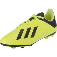 adidas Performance Fußballschuhe X 18.4 FxG für Jungen gelb Junge