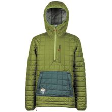 NITRO Snowboardjacke 'Mansiri' pastellblau / oliv
