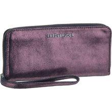 Fredsbruder Kellnerbörse Bright Zip Wallet Metallic Plum