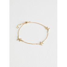 Olive Branch Chain Bracelet - Gold