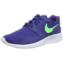Nike Kaishi (GS), Unisex-Kinder Sneakers, Blau (404 Deep Royal Blue/Green Strike), 36.5 EU