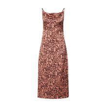 GLAMOROUS Kleid 'LADIES DRESS' pink / schwarz