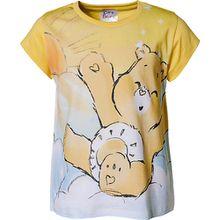 Die Glücksbärchis Baby T-Shirt  gelb Mädchen Kinder