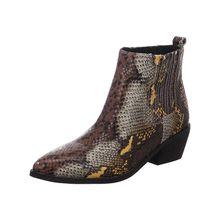 La Strada© Stiefel & Stiefeletten La Strada Klassische Stiefeletten braun-kombi Damen
