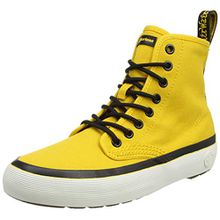Dr. Martens Damen Monet Canvas Stiefel, Gelb (DM Yellow Canvas), 41 EU