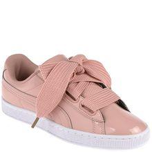 Puma Sneaker - BASKET HEART PATENT rosa
