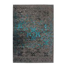 Moderner designer Teppich Cambodia - Battambang Blau Blau 120cm x 170cm