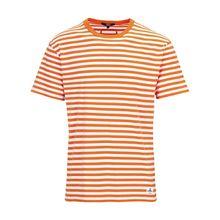 tigha Herren Shirts Julio mehrfarbig (orange/white)