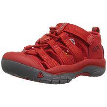 Keen Unisex-Kinder Newport H2 Sandalen Trekking-& Wanderschuhe, Rot (Firey Red Firey Red), 25/26 EU