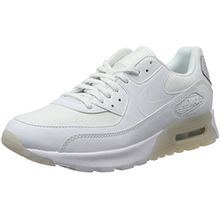 Nike Damen Air Max 90 Ultra Essential Sneaker, Weiß (White/White-Pure Platinum), 40 EU