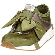 TOM TAILOR Damen 4899105 Sneaker, Grün (Khaki), 37 EU
