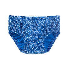 Schiesser Baby-Jungen Badehose Aqua Windelslip, Blau (Blau 800), 104 (Herstellergröße: 415)
