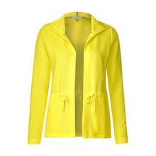 CECIL Shirtjacke gelb