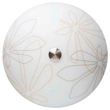 Brilliant Lio Wand- und Deckenleuchte, 2x E14 max. 40 W, Metall / Glas, eisen / braun-beige deko 67298/70