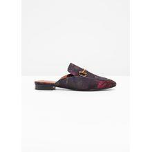 Loafer Slides - Red
