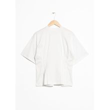 Pleated T-Shirt - White