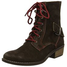 Stockerpoint Schuhe 7060, Damen Biker Boots, Braun (Moor gespeckt), 41 EU
