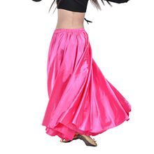 YouPue Damen Tanzkostüm Bauchtanz-Kostüm sexy High-End-Dual Rock Bauchtanz Leistungen große Rock Komfort (nicht enthalten Gürtel) Gürtel Kostüme Bauchtanz Taille Kette Rose