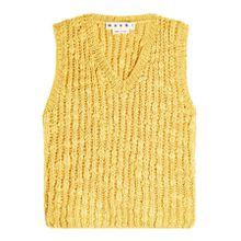 Marni Zopfstrick-Pullunder aus Wolle