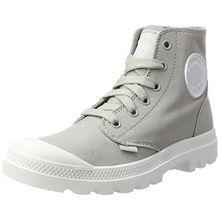 Palladium Unisex-Erwachsene Blanc Hi Sneaker, Grau (Vapor/White/White), 39 EU
