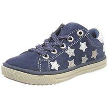 Lurchi Mädchen Starlight Slipper, Blau (Jeans), 32 EU