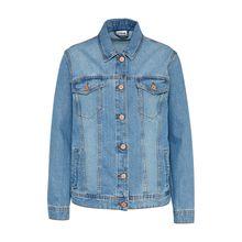 NOISY MAY übergangsjacke Jeansjacken blue denim Damen