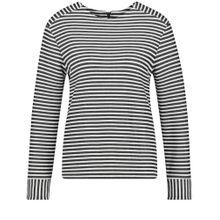 TAIFUN T-Shirt schwarz / offwhite