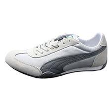 Puma 76 Runner Nylon Retro Sneaker Größe EUR 37 UK 4 Grau Damen Schuhe Racer Cat