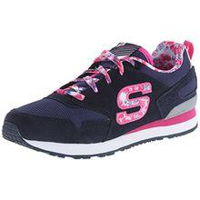 Skechers Retrospect, Mädchen Sneakers, Blau (BLMT), 31 EU